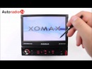 Xomax XM-VRSU727BT Autoradio carradio USB touchscreen MP3 Radio