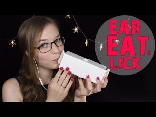 CURE for Tingle Immunity 💛 INTENSE Ear Eating (+Literal) & Licking 💛 40 mins 💛 No Talking ASMR