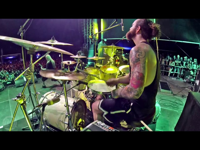 SUFFOCATION@Catatonia-Eric Morotti-Live in Brutal Assault 2017 (Drum Cam)