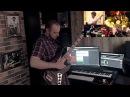 AMAZING Balalaika Alexey Arkhipovskiy with Zack B on Drums VictorJR on Bass