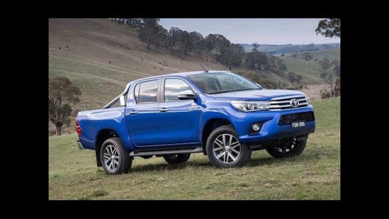 Toyota Hilux 2017 Обзор Нового Пикапа