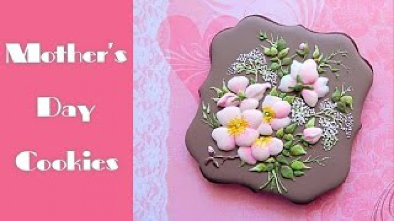 Mother's Day cookie gift. Beautiful flower bouquet.🌸