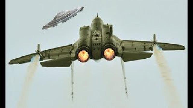 НЛО такой прыти не ожидало! Неудачная ATAKA пришельцев против российского МИГа