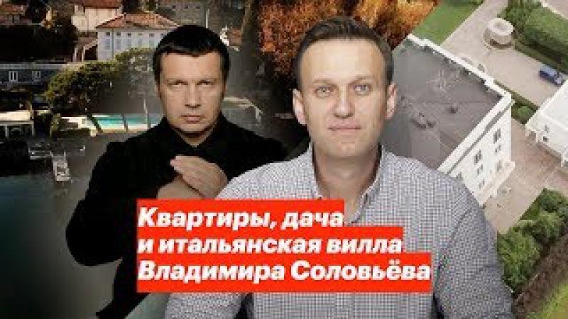 Квартиры, дача и итальянская вилла Владимира Соловьева