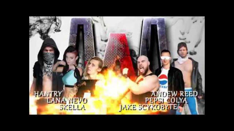 Skella Hantry Lana Nevo vs Pepsi Kolya Andrew Reed Jake Scukobyte @ FanExpo 12 08 2017