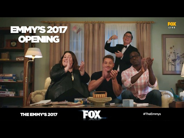 The Emmy's 2017   Stephen Colbert Emmy's opening   FOX