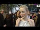 Emma Stone Battle of the Sexes LFF 2017 Premiere Interviews