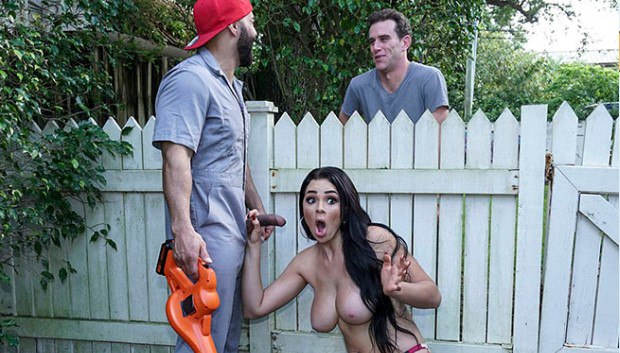 WGPORNO BangBros - Busty House Wife Fucks The Gardener