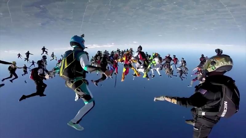Red Bull Record Breaking Skydive