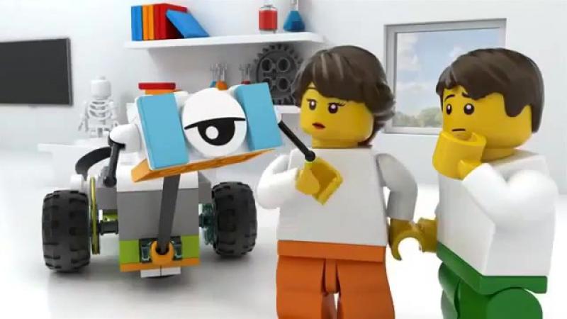 Lego WeDo в ЭйнШтейн