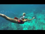 Youngest freediver in world plunges 32-feet underwater