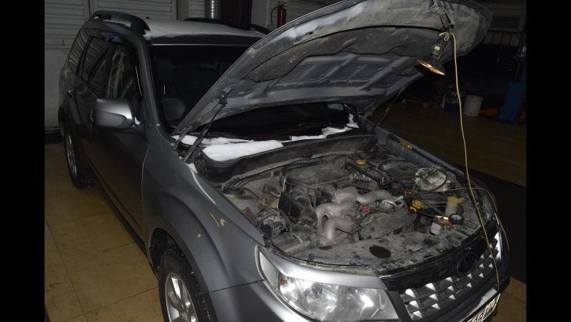Диагностика Subaru Forester EJ204