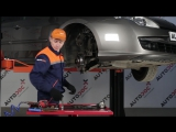 Renault Laguna 3 (Рено Лагуна 3) замена передних тормозных дисков и колодок