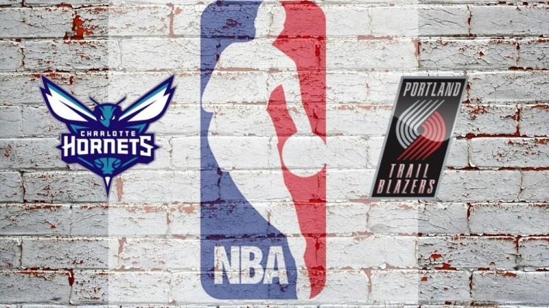 NBA 2017-2018 / RS / 08.02.2018 / Charlotte Hornets vs Portland Trail Blazers