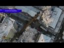 Строительный кран упал на общежитие ул Мопра Место происшествия 19 01 2018