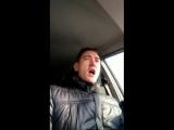 утренняя распевка в машине))