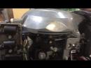 Установка стартера на двигатель лодки YAMARAN