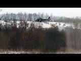 Охота с вертолета в Белгородской области 14.02.18