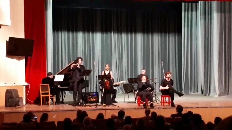 Концерт «Elbe Ensemble» Дрезденской Высшей школы музыки совместно с Екатеринбургским коллективом Провинциальные танцы