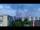 Краматорск 3 мая 2014 В центре пожары и сирена