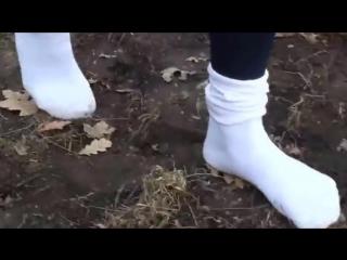 Blue stockings high heel dirty socks Sexy сексуальные эротические ноги стопы обувь колготки девочки мамаши школьницы студентки м
