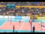 07.11.2010. Волейбол. Чемпионат мира. Женщины. Польша - Россия