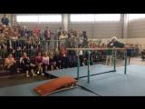 Замечательное выступление 91-летней гимнастки