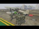 Михакер GTA 5 Online Смешные моменты 64 - Летная школа 2 погони, глюки, сальто