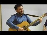 Белые вОроны. Ширван Аветисян (гитара, вокал), Александра Огородникова (скрипка), Алина Мосина (флейта)