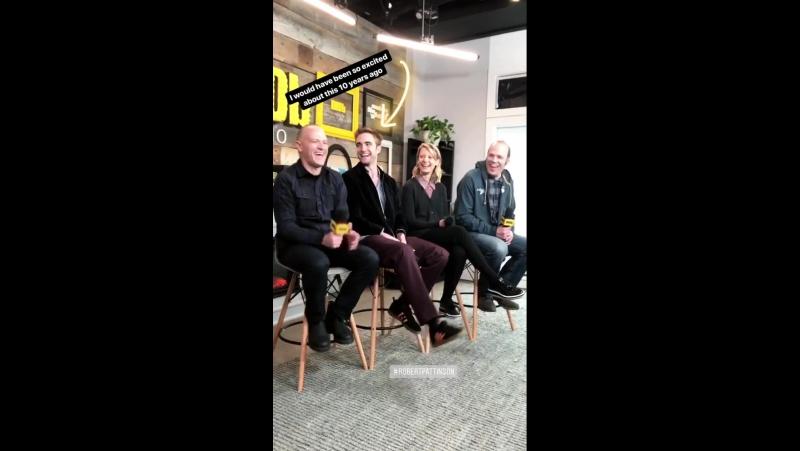 Damsel Sundance press-junket - IMDb studio