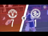On this day: #MUFC 7 Blackburn 1 (2010)