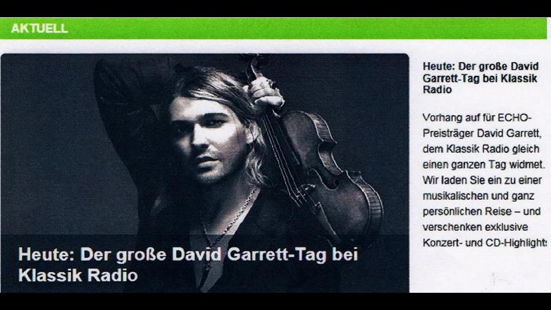 28.11.2014-DG /great day with David Garrett on Klassik Radio