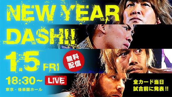 Post image of NJPW New Year Dash!! 2018