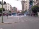 Мусора болибуржуазного режима Моралеса разгоняют студенческий протест против приватизации системы образования в Ла-Пас