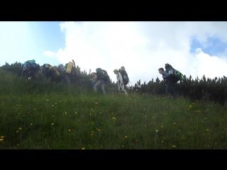 Поход туристического кружка в Ришельевском лицее по карпатам июль-август 2017года.