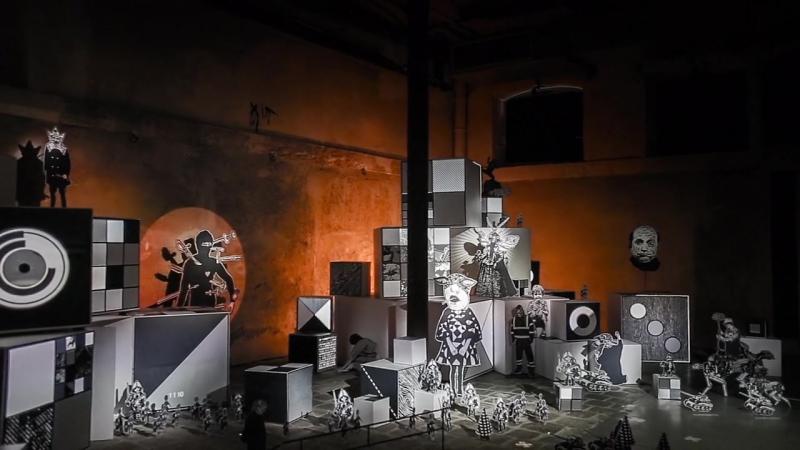 Mécaniques Discursives at Biennale Némo 2015