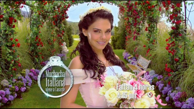 Репортаж о начале съемок новеллы Итальянка выходит замуж (озвучка канала Теленовелла)