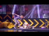 Sara and Hero- Dogs And Trainer Deliver Amazing Routine - Americas Got Talent 2017