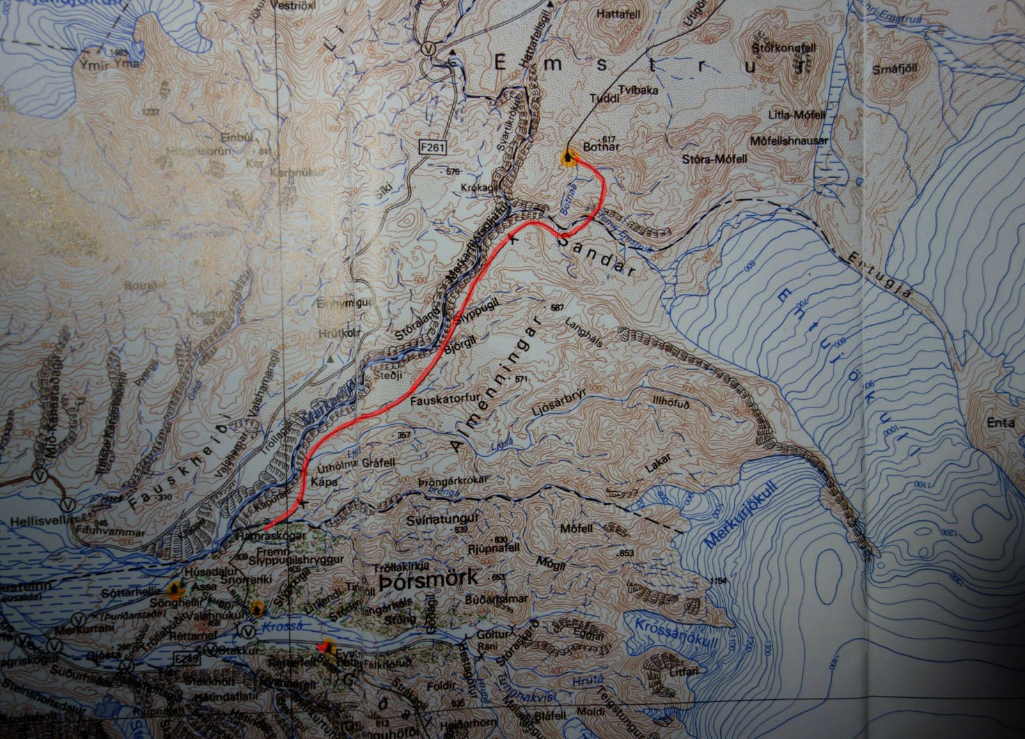 карта с лендниками
