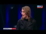 Президентские дебаты как они есть: Жириновский в прямом эфире покрыл Собчак матом, а она облила его водой