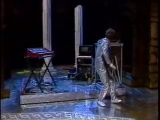 Laurie Anderson on German TV in 1984