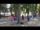 Скандинавские палки.Парк им. Ю.Гагарина