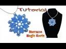 DIY Macrame Mandala Flower Tutorial