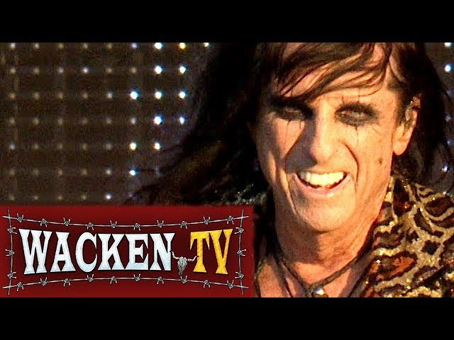 Alice Cooper - School's Out Paranoiac Personality - Live at Wacken Open Air 2017
