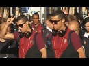 Cristiano Ronaldo and Portugal National Team Arrived In St. Petersburg 22.06.2017