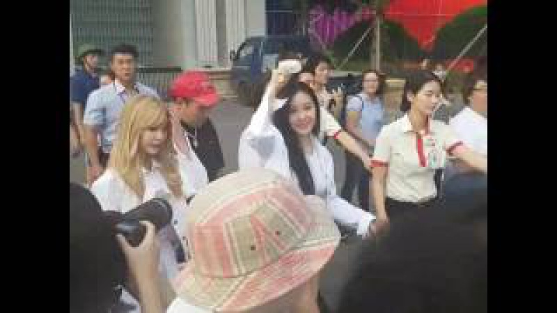 T- ara return after join an event at the Ilgan Sports Club 170730