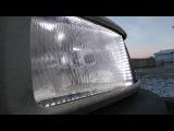 passat B3. светодиодная подсветка, габариты