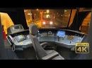 Night Cab Ride EMU Stadler FLIRT 3 - Serbian Railways [Novi Sad - Belgrade] 120km/h [4K]