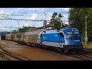 ČD railjet Taurus 1216 233 na nákladu Lipník nad Bečvou 16 7 2017