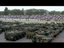 戦車が大渋滞 車両行進準備 平成28年度自衛隊観閲式 総合予行